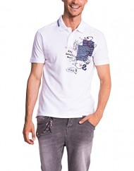 Desigual-Tony-T-shirt-Empire-Imprim-animal-Col-ras-du-cou-Manches-courtes-Homme-0