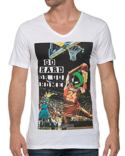 Eleven-Paris-T-Shirt-Blanc-Looney-Tunes-0