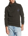 G-Star-Sweat-shirt-Uni-Col-montant-Manches-longues-Homme-0