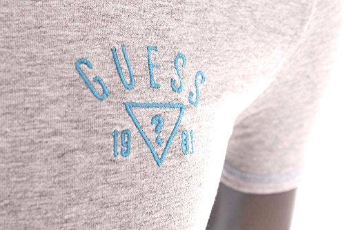 Guess-T-Shirt-homme-Slim-Fit-stretch-gris-col-rond-UB7U29-0-0