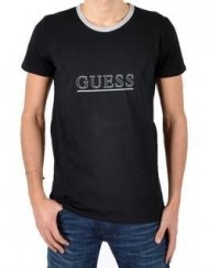 Guess-T-shirt-Intimo-Mc-Noir-Noir-0