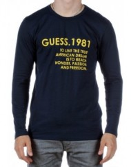 Guess-T-shirt-Ml-1981-Noir-Noir-0
