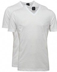 Hugo-Boss-Black-Frres-deux-Pack-de-T-Shirts-Blanc-0