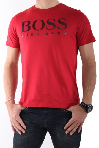 Hugo-Boss-HOMME-Tee-Shirts-Manches-Courtes-TEE-US-ROUGE-0