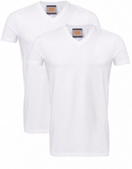 Hugo-Boss-Orange-Twin-Pack-base-Tyll-T-Shirts-Blanc-0