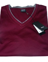 T-SHIRT-HUGO-BOSS-VINO-23-COLLECTION-BOSS-BLACK-L-BORDEAUX-MANCHES-LONGUES-0
