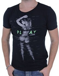 T-shirt--manches-courtes-Play-Black-Japan-Rags-0