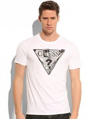 T-shirt-Guess-Triangle-White-0
