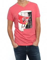 T-shirt-Pepe-Jeans-Shot-Rouge-0